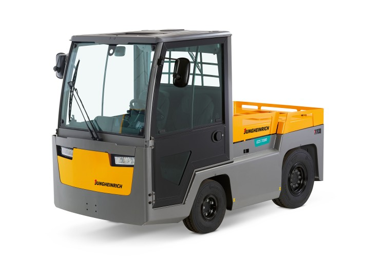 The new electric sit-on tow tractor EZS 7280 by Jungheinrich.