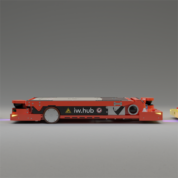 Automated Guided Vehicle: iw.hub, idealworks